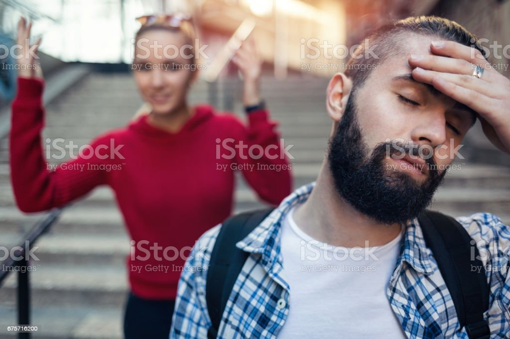 This girl is crazy stock photo