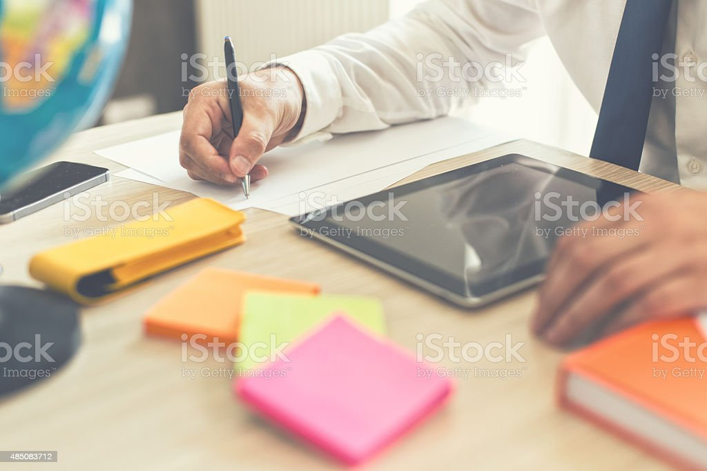 This idea should not be forgotten stock photo