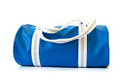 This is a blue bag.