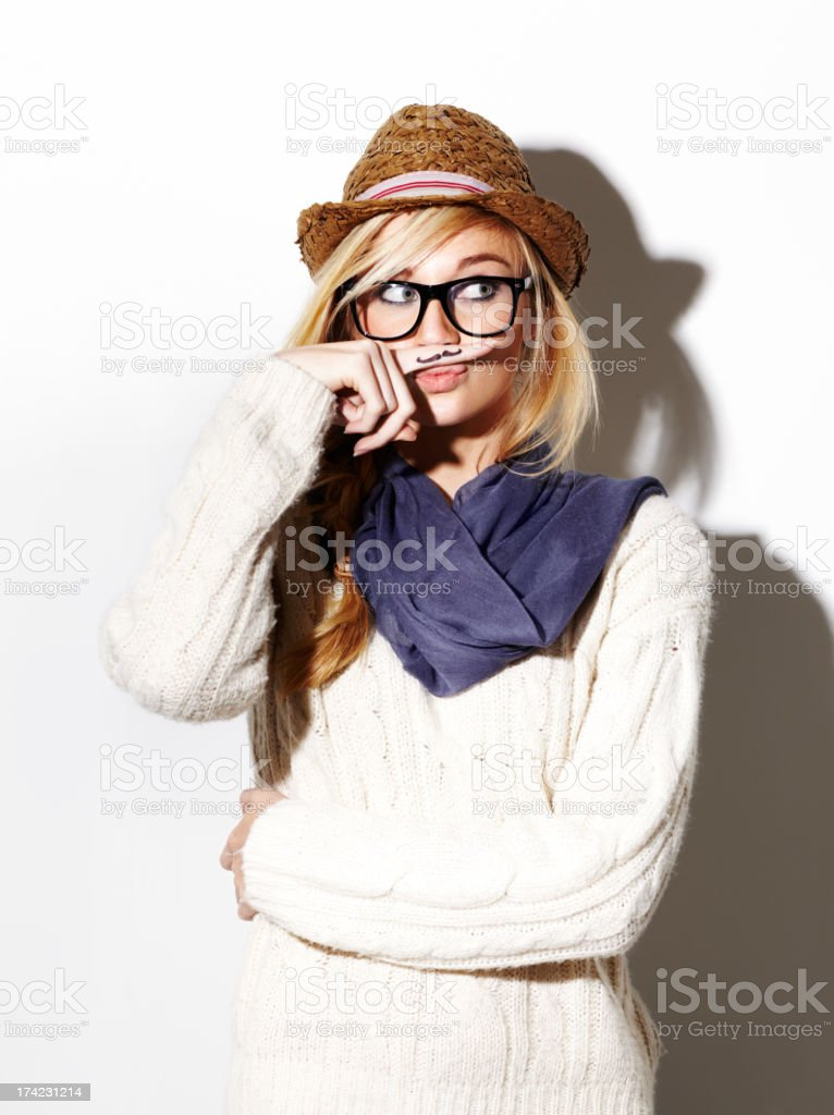 This is a clever disguise stock photo