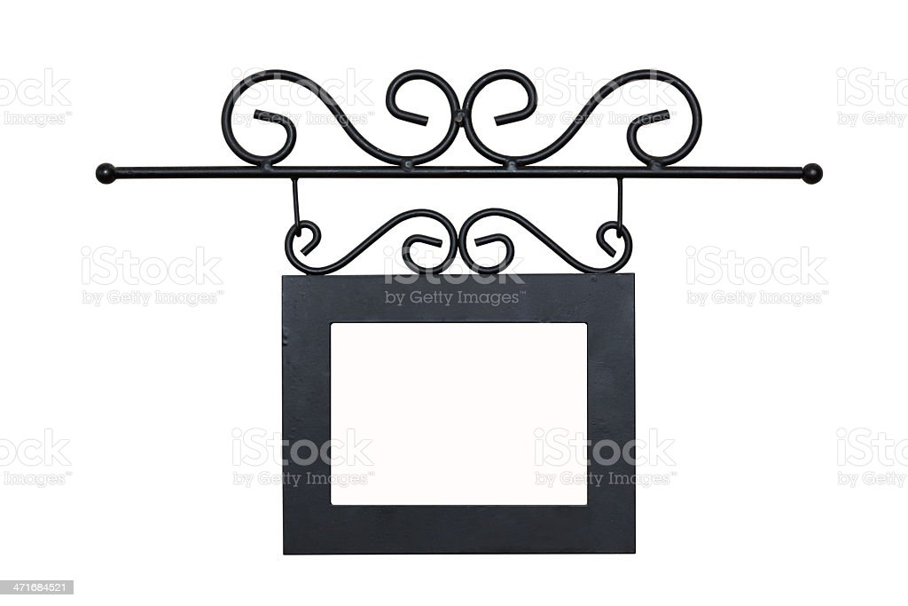 This is a photo of the metal frame royalty-free stock photo