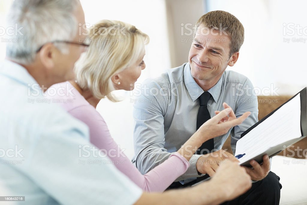 This is an excellent deal royalty-free stock photo