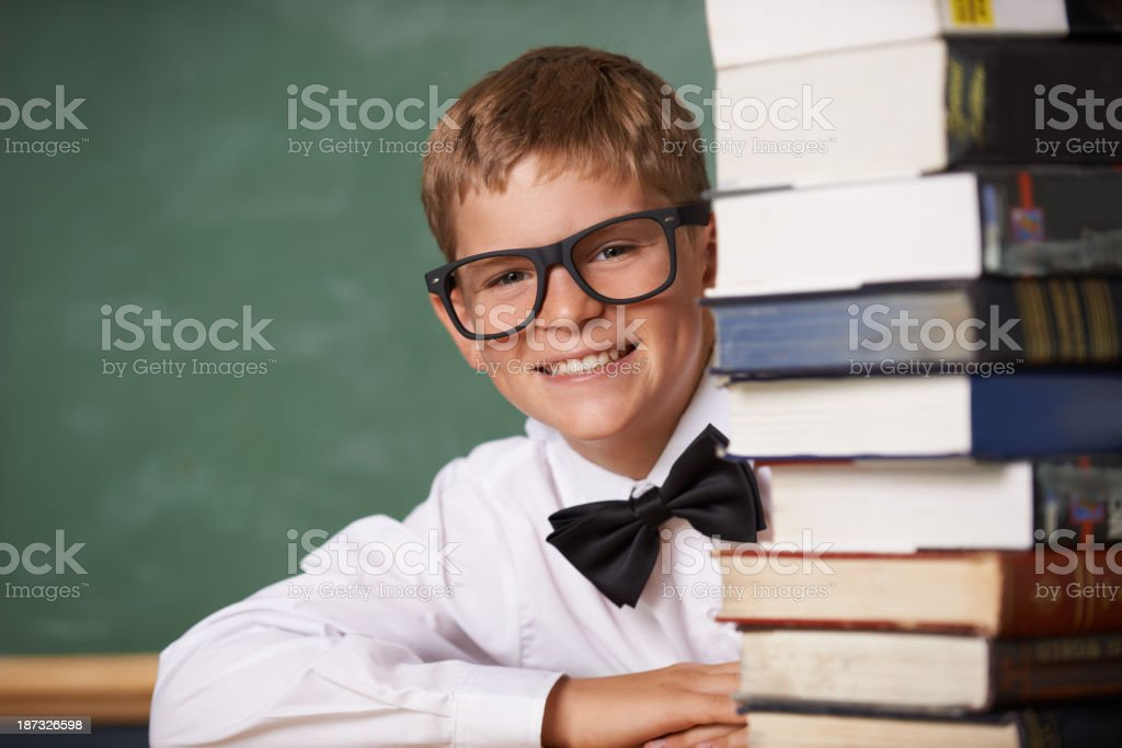 This is any bookworm's dream! royalty-free stock photo
