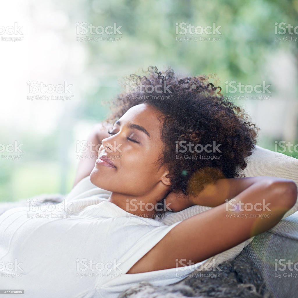 This is bliss... stock photo