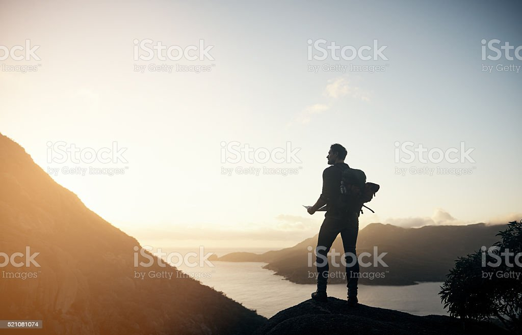 This is exactly where I need to be stock photo
