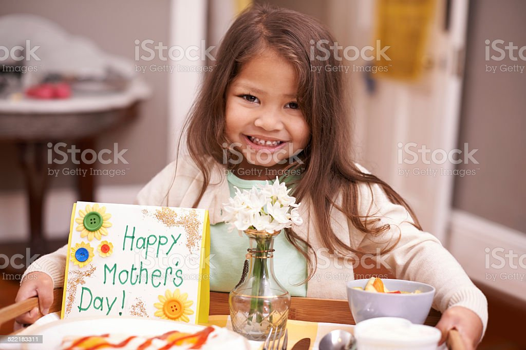 This is for the best mother ever stock photo