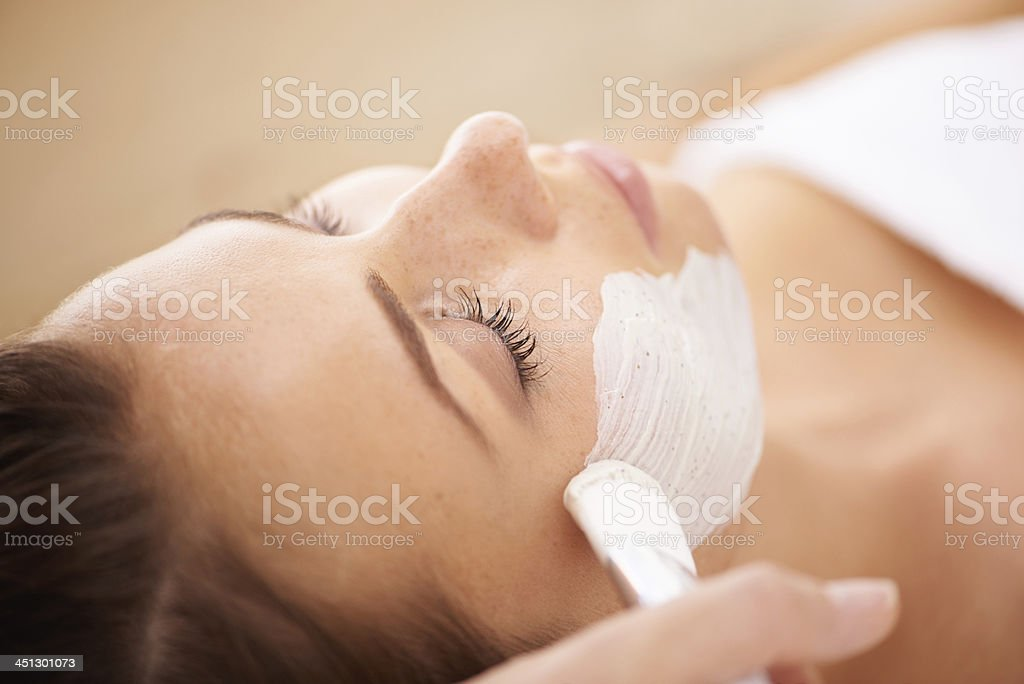 This is going to be a deep cleanse stock photo