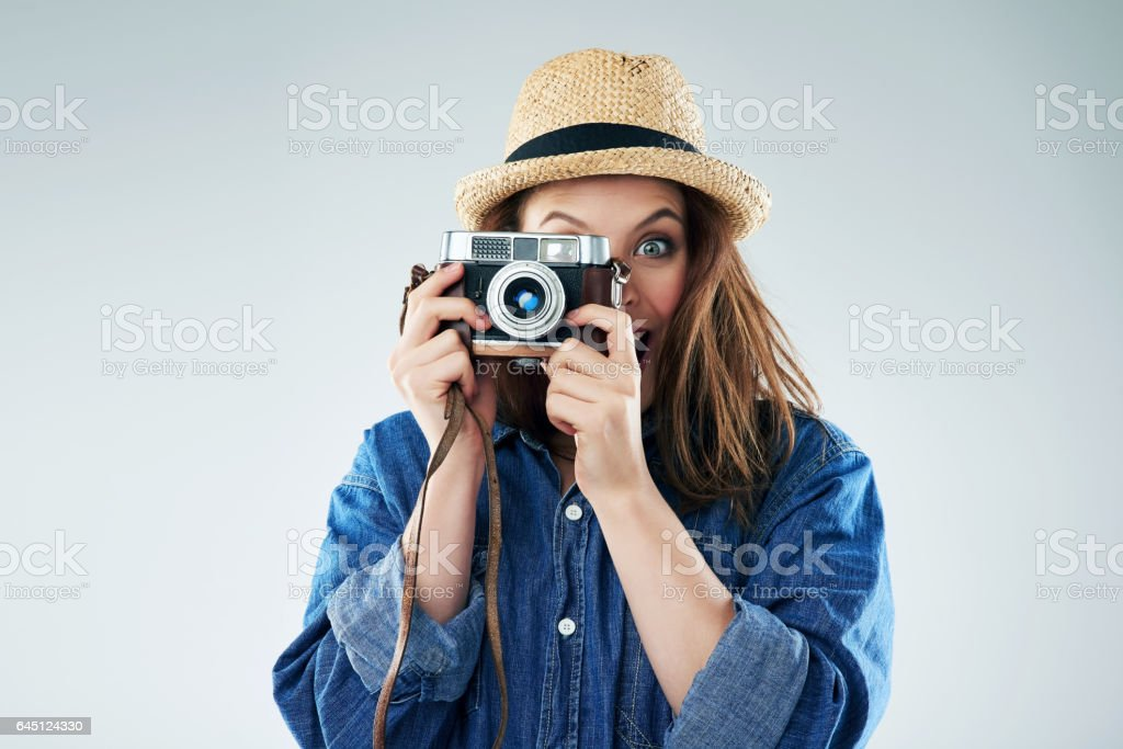 This is going to be a great shot! stock photo