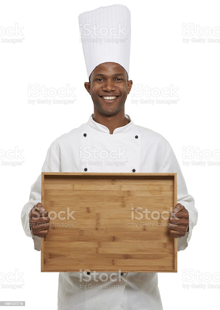 This is going to be covered with delicacy royalty-free stock photo