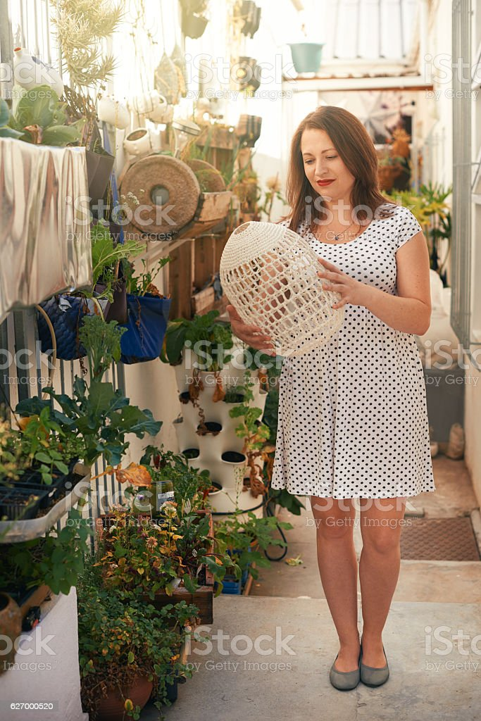This is going to look perfect here! stock photo