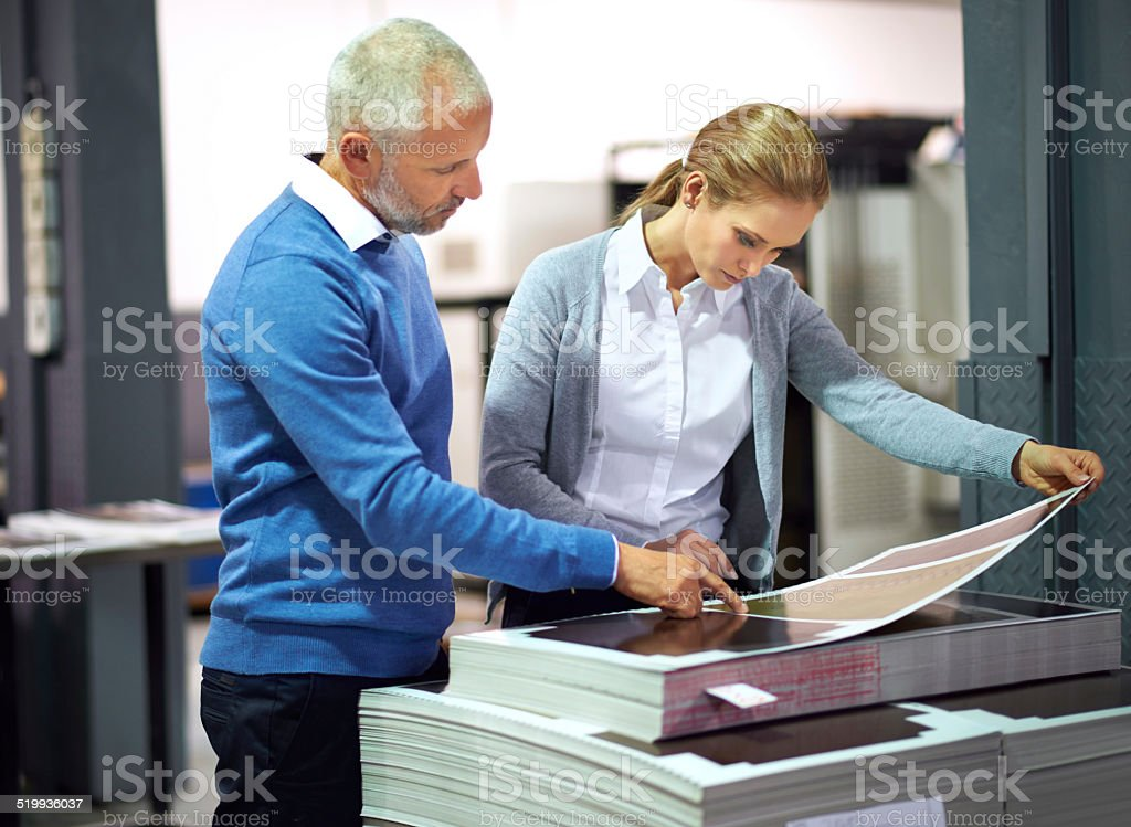This is good work... stock photo