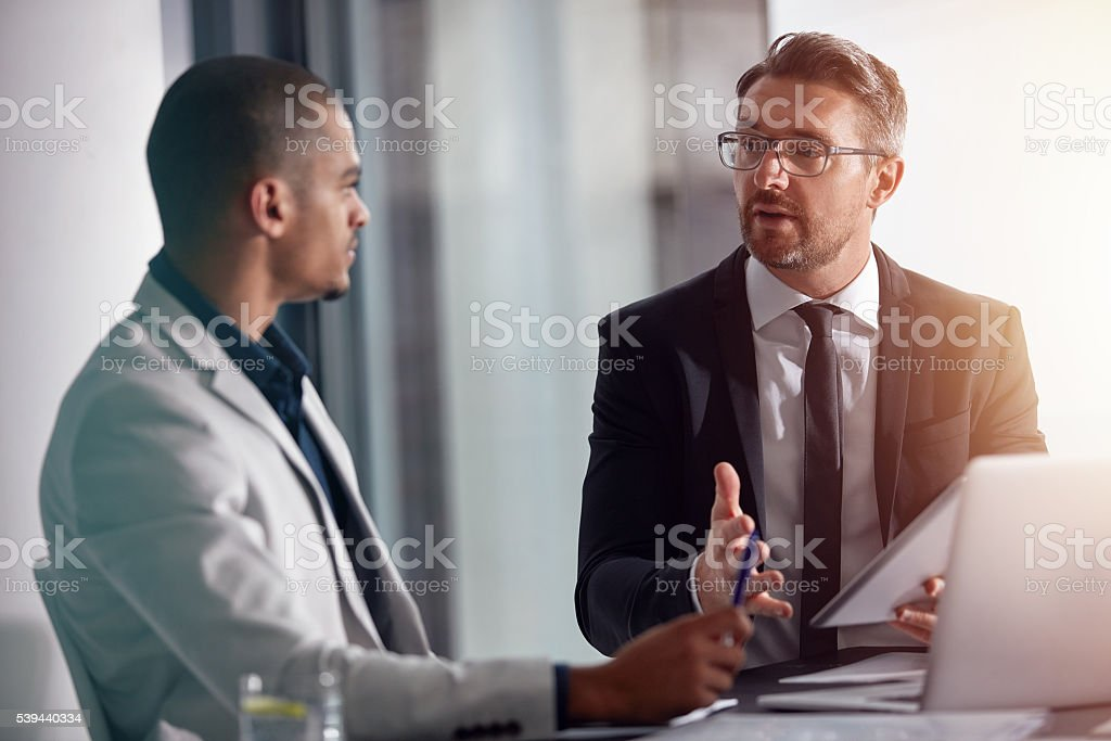 This is how we will increase our profits stock photo