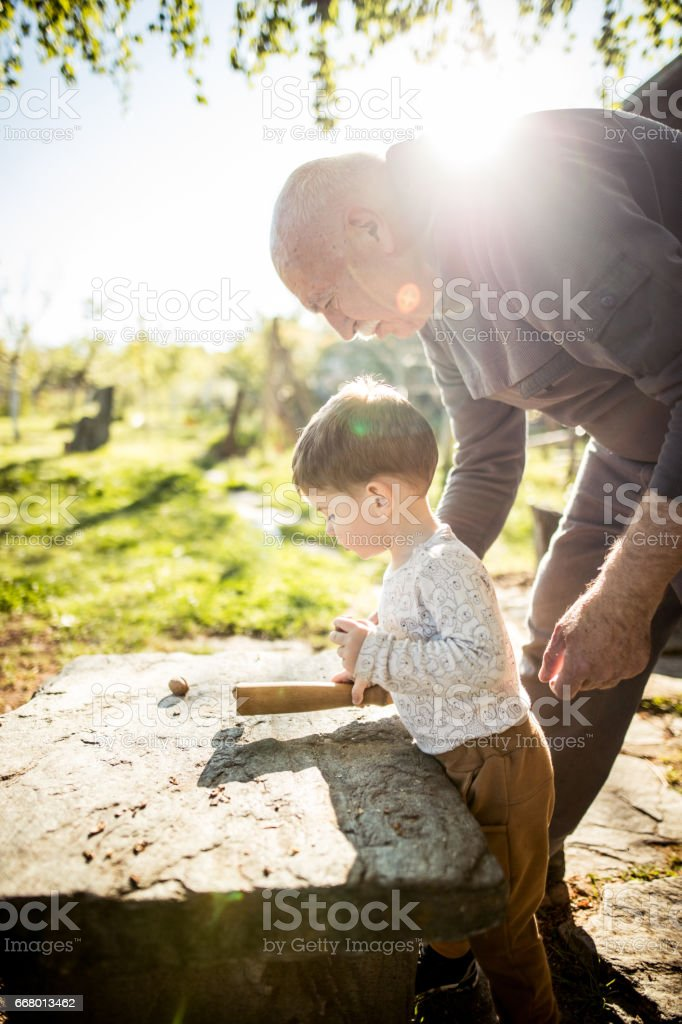 This is how you crack it stock photo