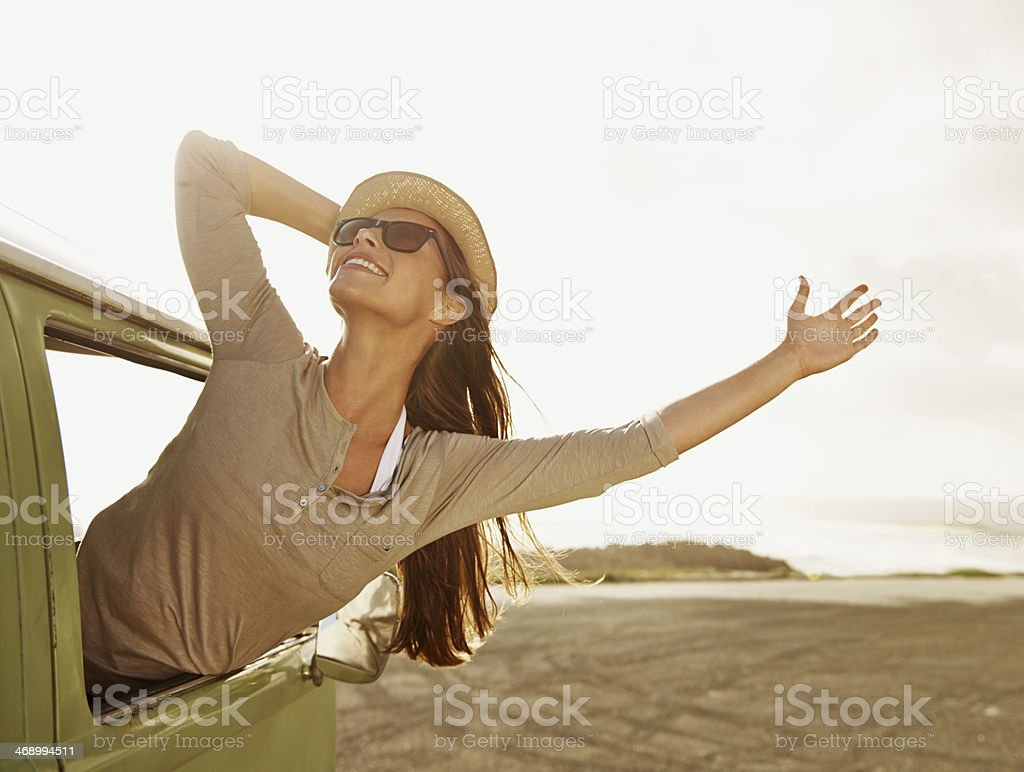 This is living! royalty-free stock photo