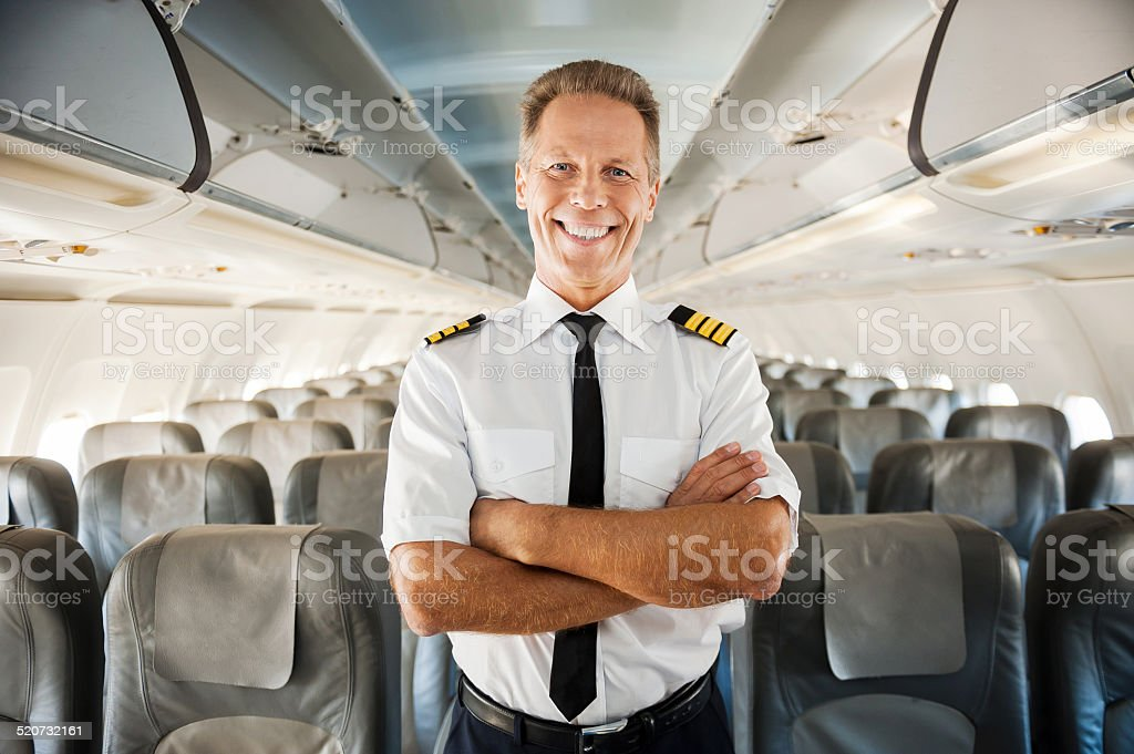 This is my plane. stock photo