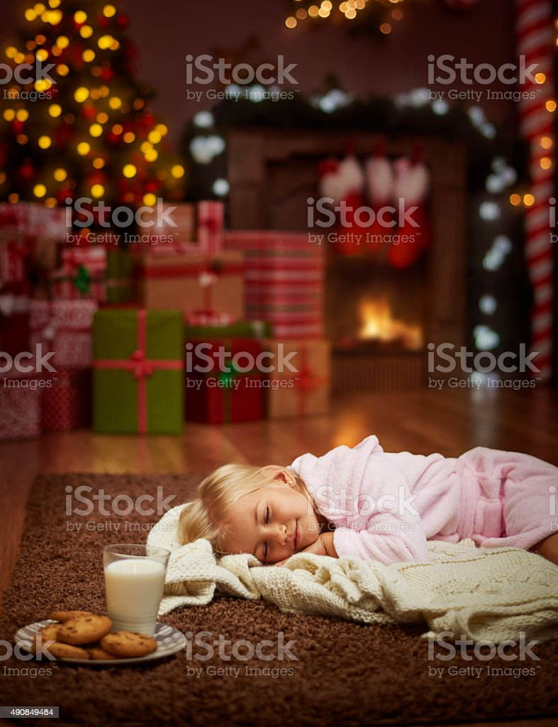 This is my time to go to sleep stock photo