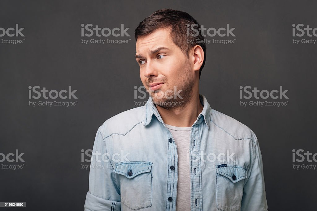This is not a good idea! stock photo