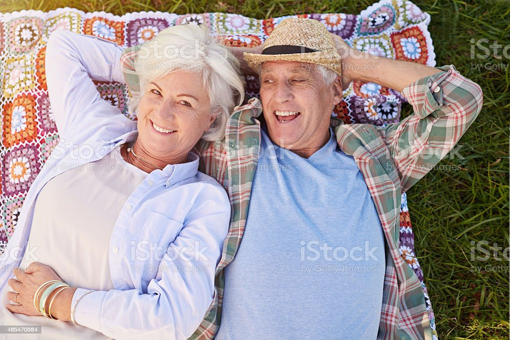 This is one relaxing retirement stock photo