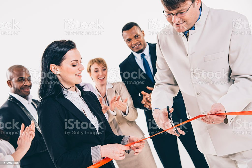 This is our day! stock photo