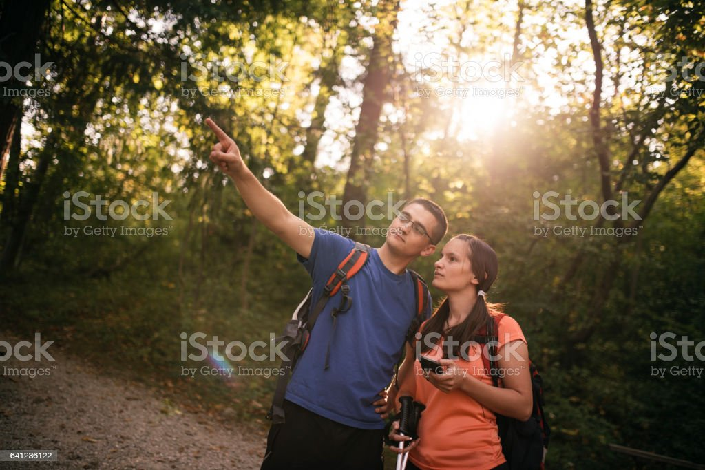 This is our way stock photo