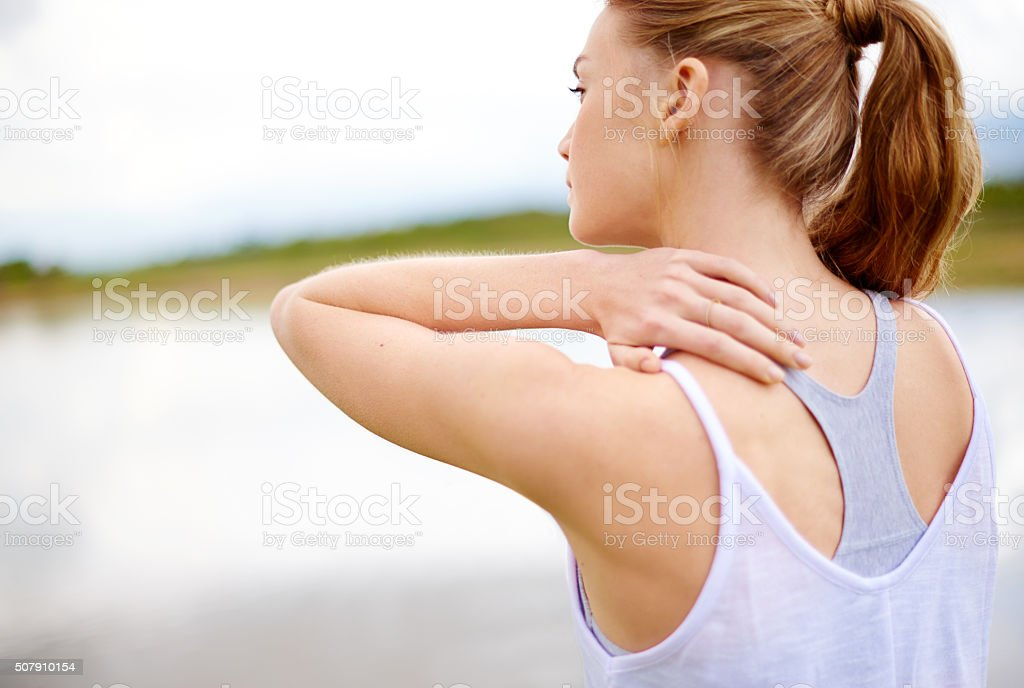 This is so painful stock photo