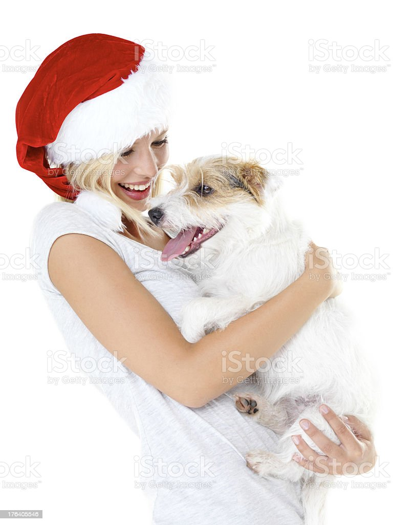 This is the best christmas gift ever! stock photo