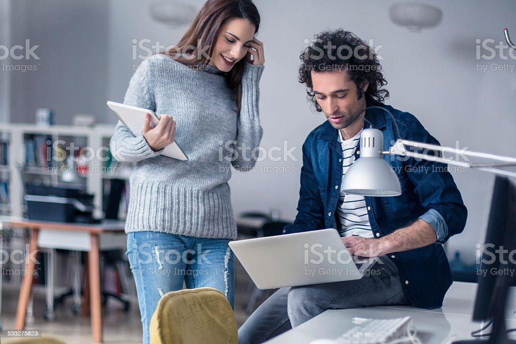 This is the design we want ! stock photo