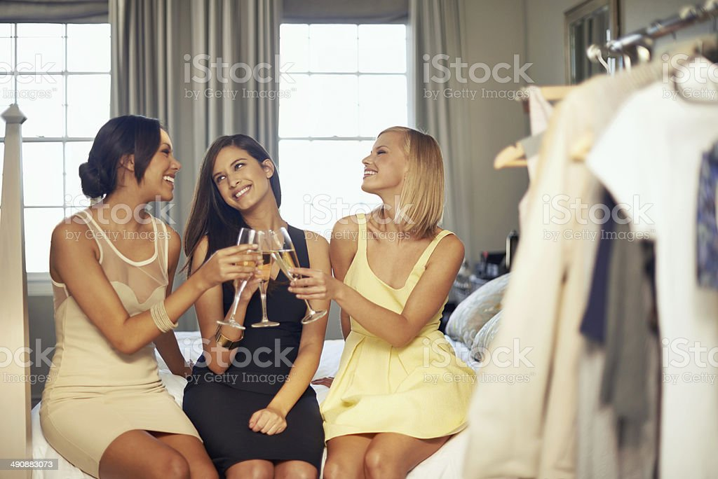 This is the good life! stock photo