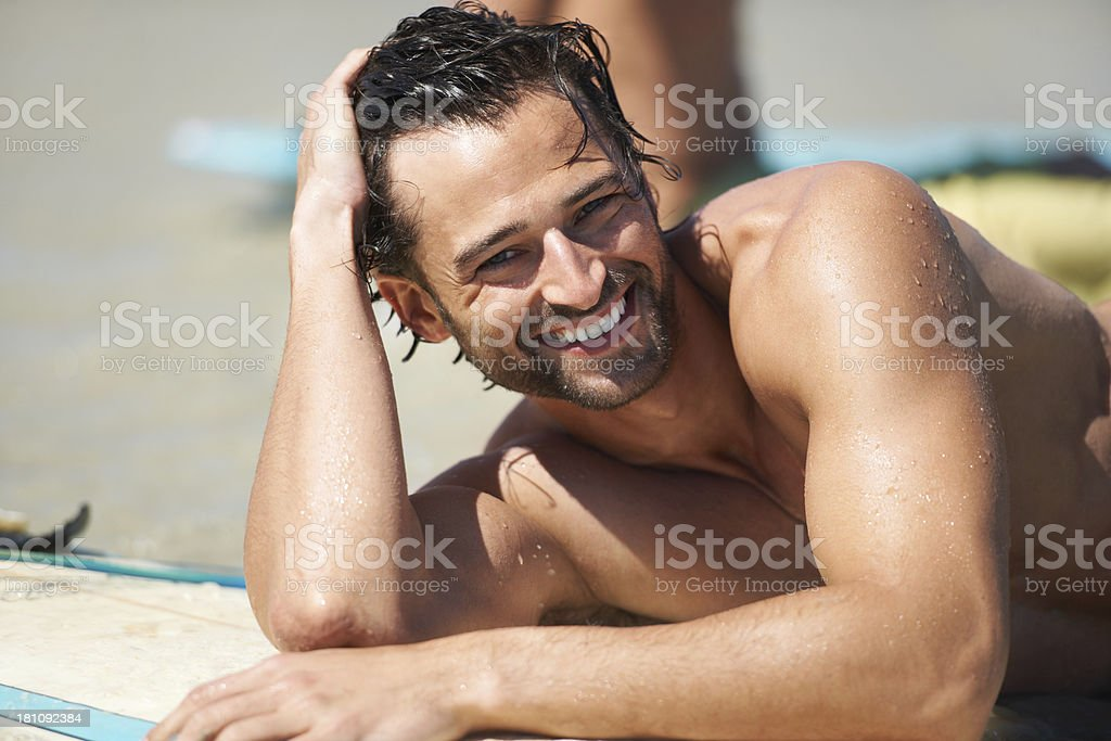 This is the life for me royalty-free stock photo