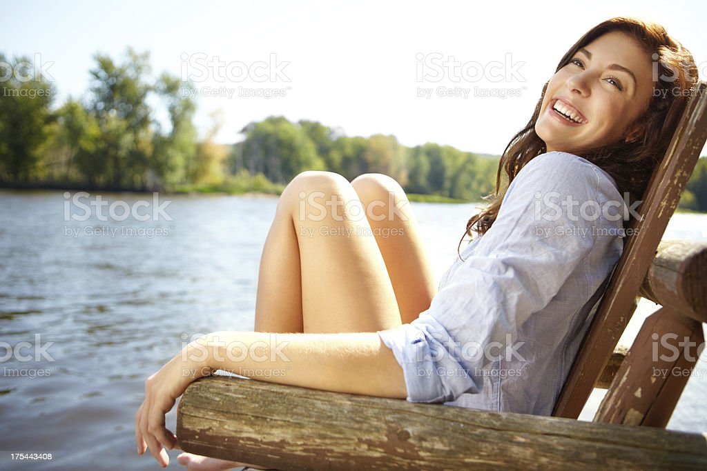 This is the life... royalty-free stock photo