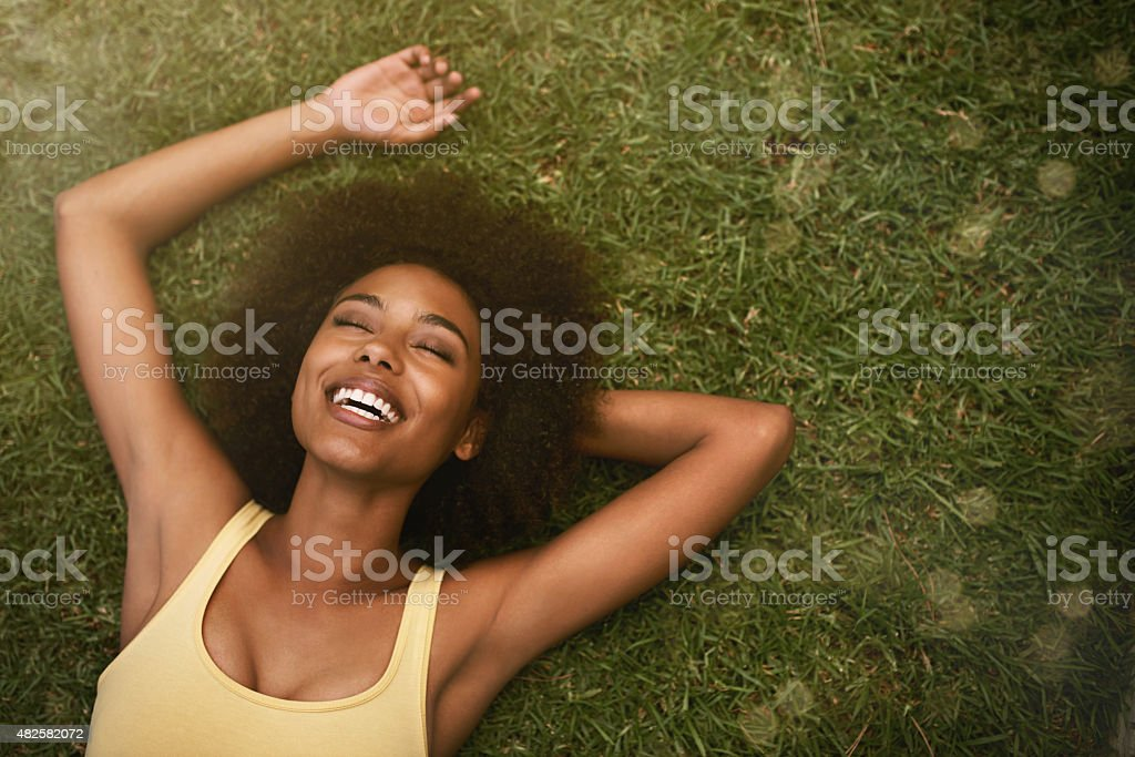 This is the life! stock photo