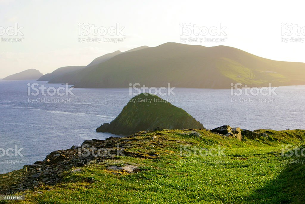 This is the most western part of Ireland stock photo