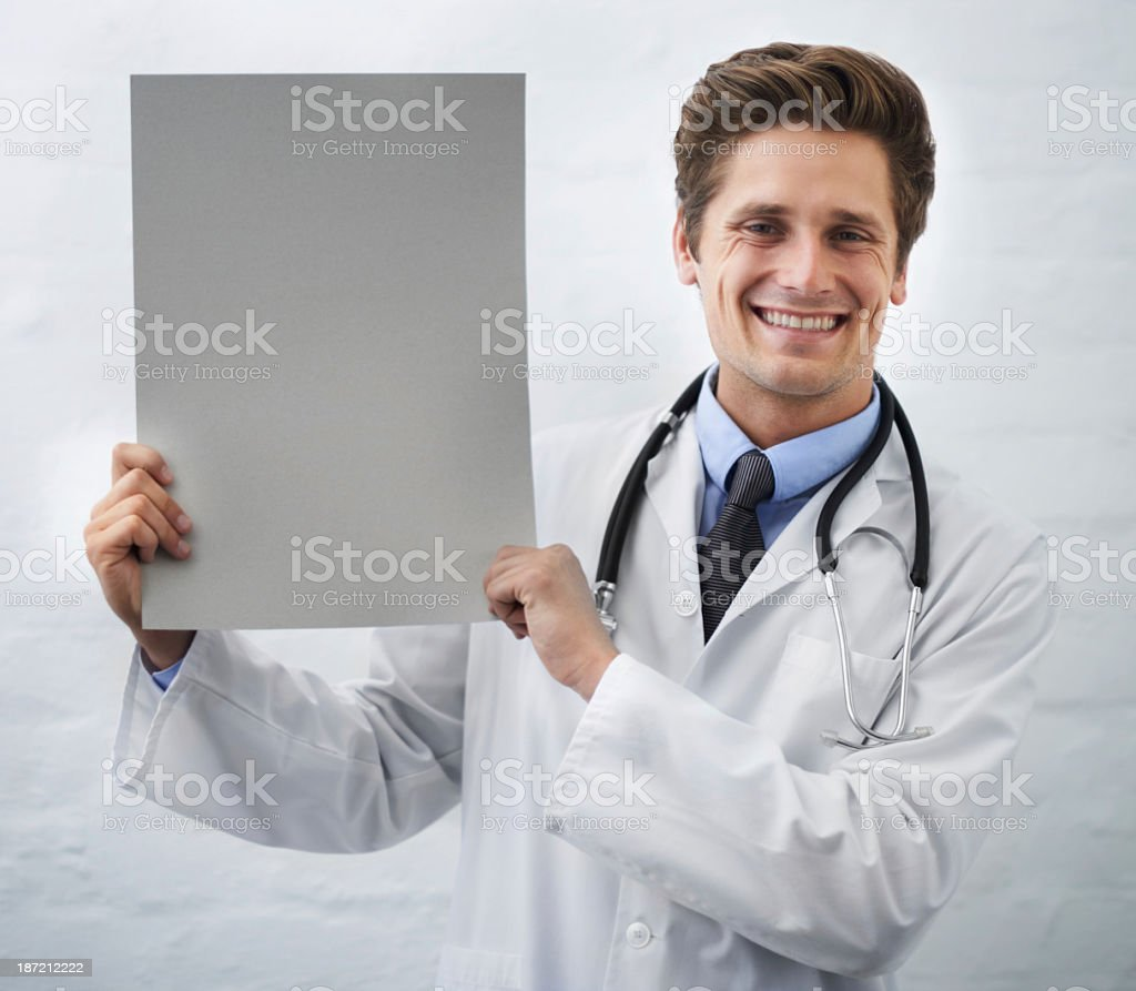 This is the newest medical marvel! royalty-free stock photo