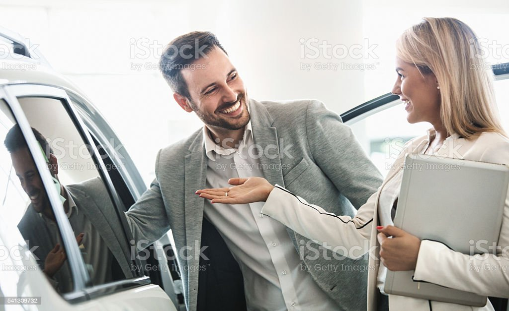 This is the right car for you. stock photo
