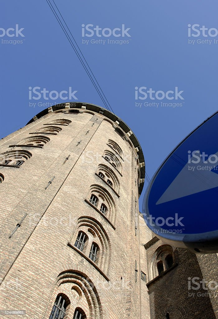 This is The Round Tower stock photo
