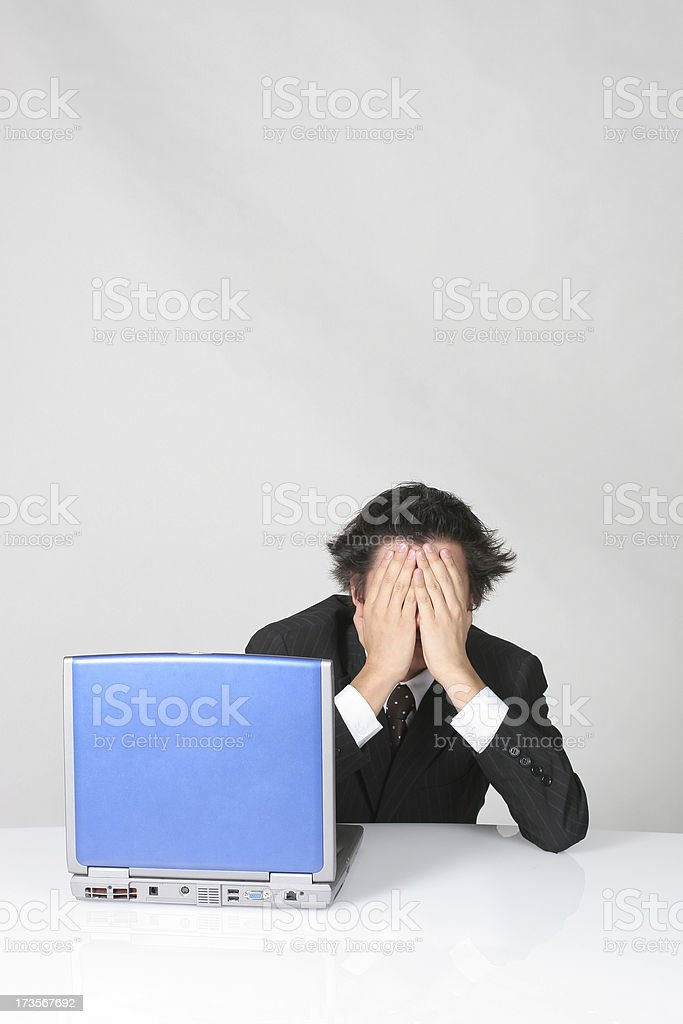This is too hard!!! royalty-free stock photo