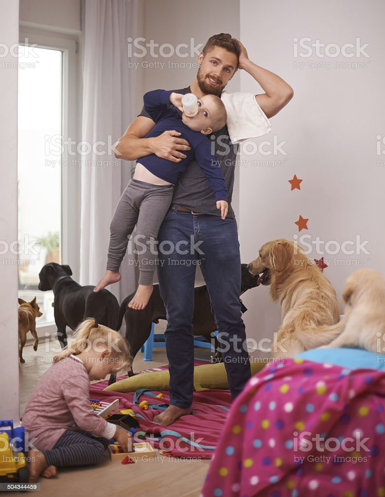This is too much stock photo