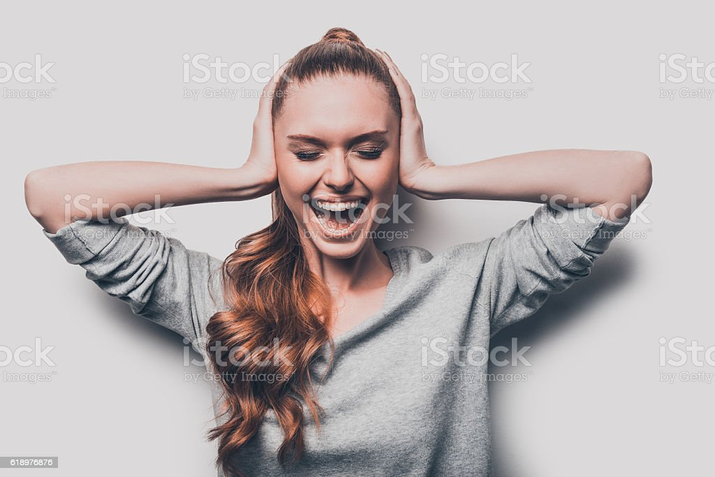 This is too much! stock photo