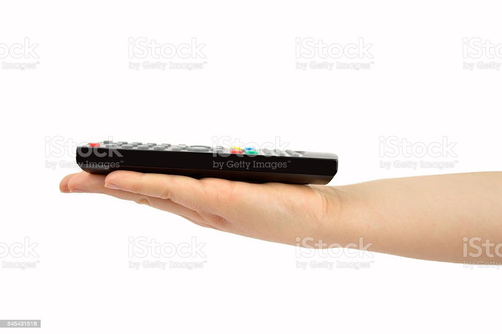 this is tv programming stock photo
