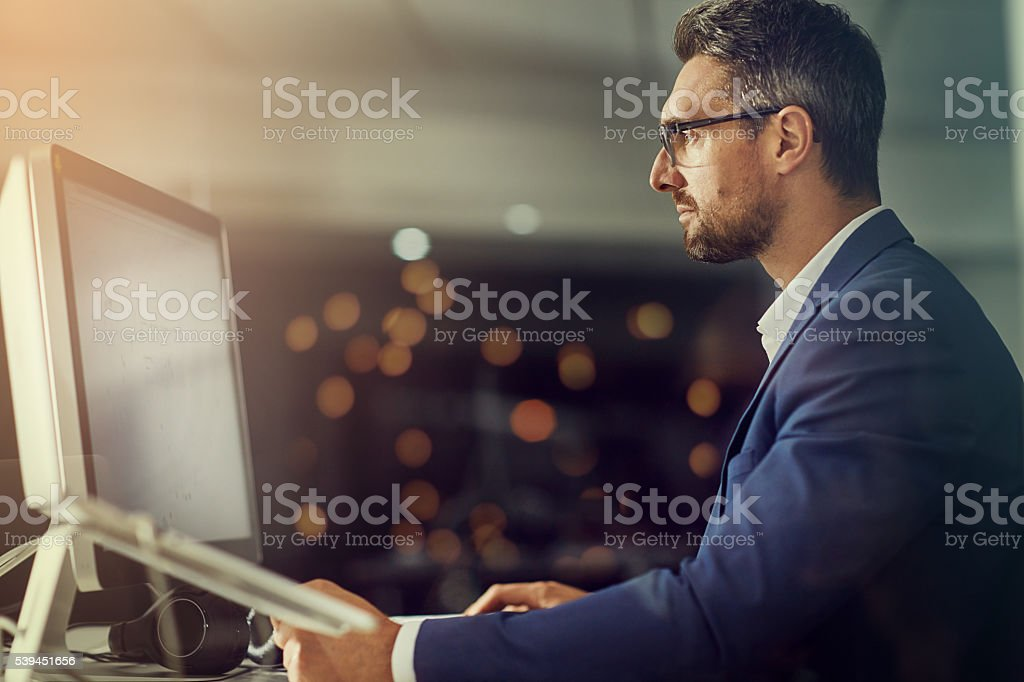 This is what dedication and devotion looks like stock photo