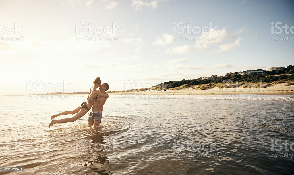 This is what true love looks like stock photo