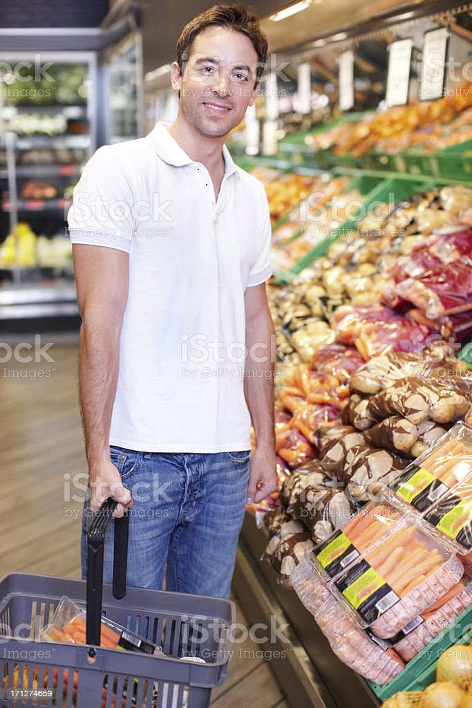 This is where healthier eating begins royalty-free stock photo