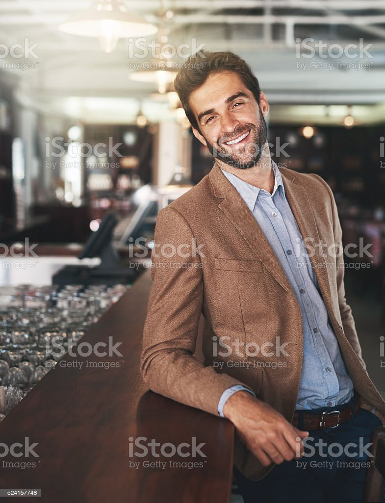 This is where I come to take it easy stock photo