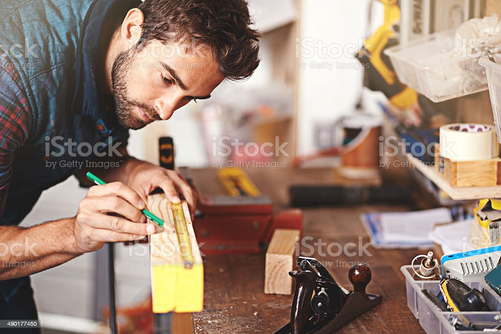 This is where skill comes into play stock photo