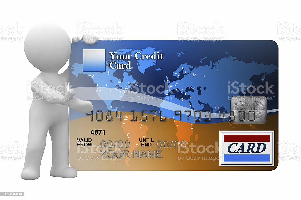 this is your card royalty-free stock photo