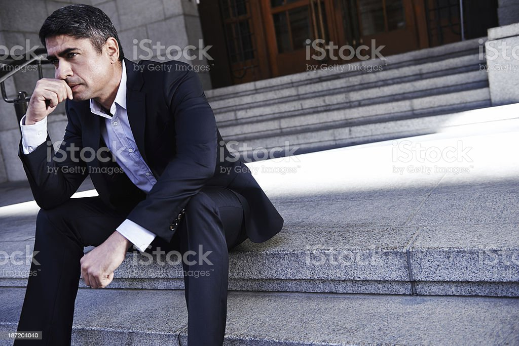 This job can be stressful stock photo