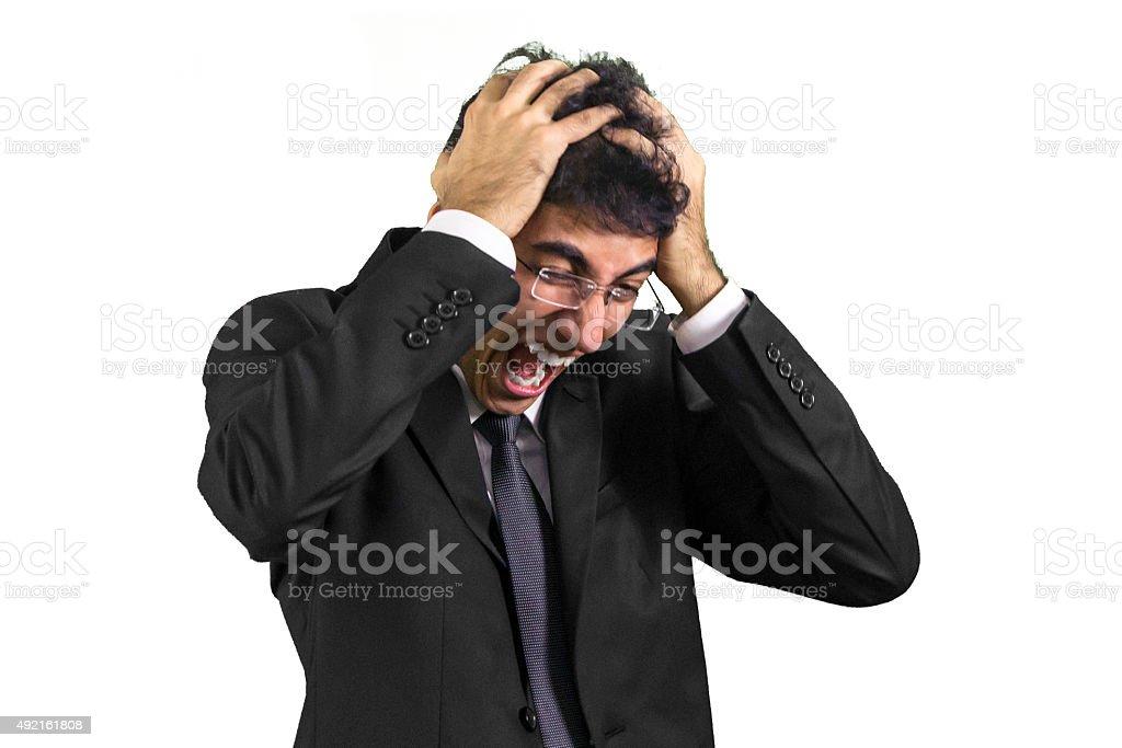 This job is killing me!!! stock photo