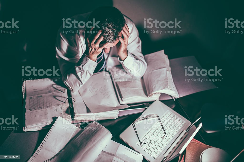 This job is not for me stock photo