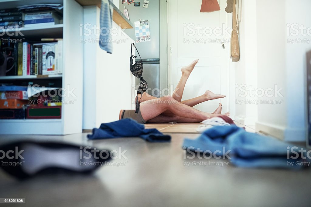 This kitchen is not just for cooking stock photo