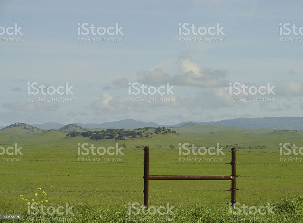 This land brought to you by the letter H royalty-free stock photo